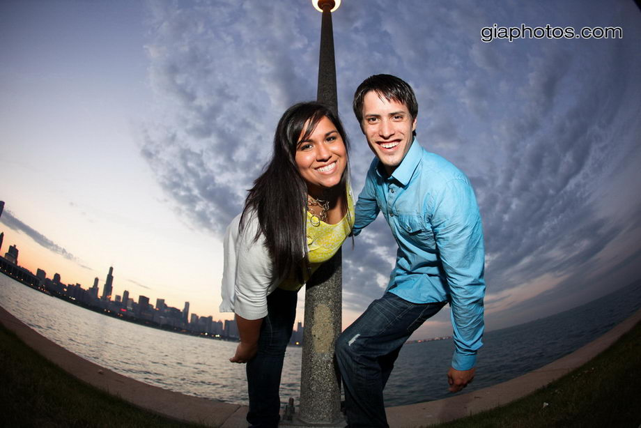 chicago engagement wedding photographer